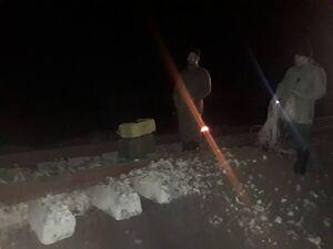 اولین تصاویر از انفجار راه آهن گرگان