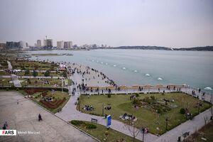 دریاچه شهدای خلیج فارس در ایام نوروز