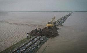 تصویری بعد از #انفجار راهآهن #آق_قلا