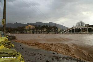 فیلم/ افزایش دِبی آب رودخانه کشکان در پلدختر