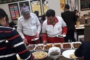 عکس/ شام لاکچری رئیس هلال احمر در گرگان!