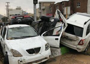 ۲۵ کشته و زخمی در سیل شیراز