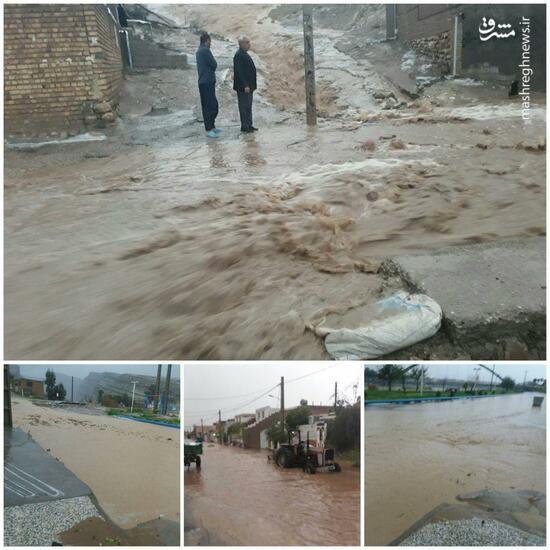عکس/ سیلاب در پلدختر