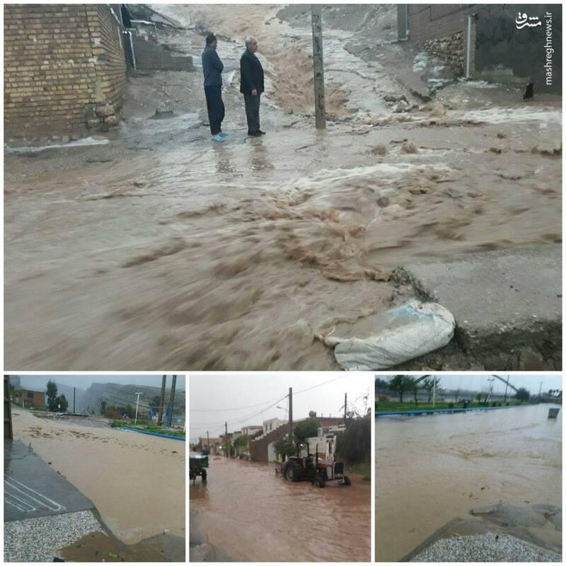 سیلاب در پلدختر