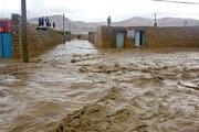 عکس/ روستای بابازید پس از بارش های سیل آسا