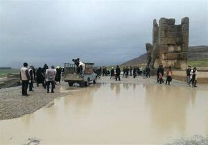 میزان خسارت سیل شیراز به آثار تاریخی