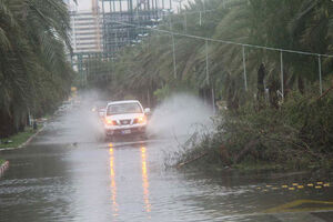 فیلم/ بارش سیل آسای باران در دزفول