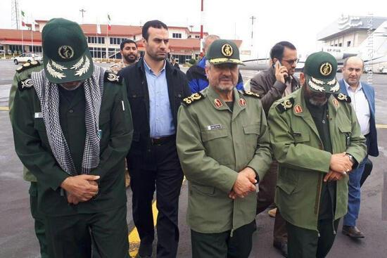 فیلم/ فرمانده سپاه در مناطق سیل زده