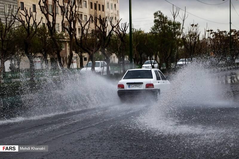 عکس شیراز بعد از سیل