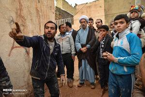 عکس/ بازدید امام جمعه شیراز از مناطق سیل زده