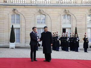 عکس/ سفر رئیس جمهور چین به فرانسه