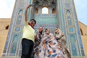 عکس/ مسافران نوروزی در شهر تاریخی یزد