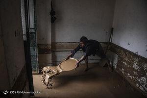 عکس/ سیل با منازل شیرازی ها چه کرد!