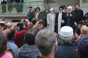 بازدید روحانی از مناطق سیل زده استان گلستان