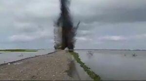 انفجار توسط سپاه