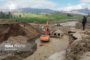 عکس/ خسارات سیل به روستاهای لرستان