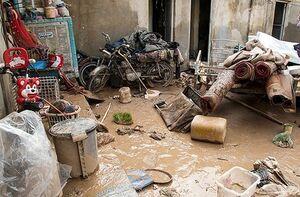 بازدید هوایی سرلشکر باقری از مناطق سیلزده / سیل مردم پلدختر را خانه به دوش کرد/ بحران سیلاب در خوزستان +عکس