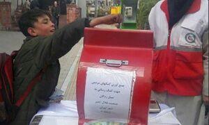 تصویری قابل تحسین از یک کودک تهرانی