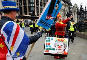 ادامه تظاهرات ضد برگزیت در لندن