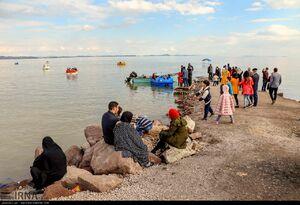 جان گرفتن دوباره دریاچه ارومیه