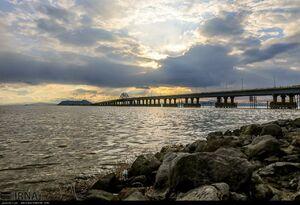 آب دریاچه ارومیه ۴۰ درصد افزایش یافت