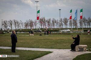 فیلم/ اوضاع میدان آزادی شهر تهران