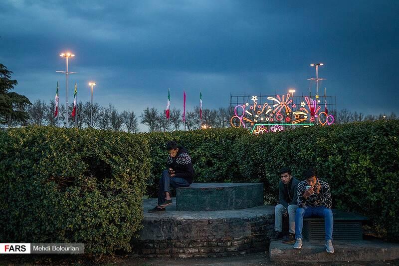 میدان آزادی در نوروز