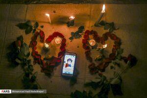 عکس/ مراسم یادبود قربانیان سیل شیراز