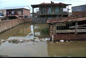 سیلاب شهر گُمیش تپه