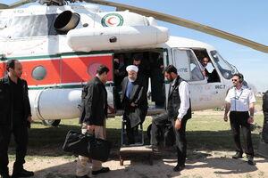 بهرهبرداری از پروژه تامین آب ۲۹۵ هزار هکتار از اراضی کشاورزی خوزستان با حضور روحانی