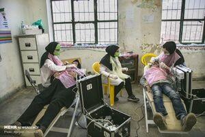 عکس/ خدمات پزشکی جهادگران سفیدپوش