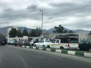 وضعیت ترافیک اطراف ورزشگاه آزادی +عکس