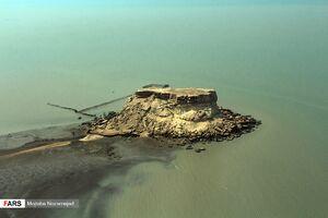 جزیره قشم از نمای هوایی