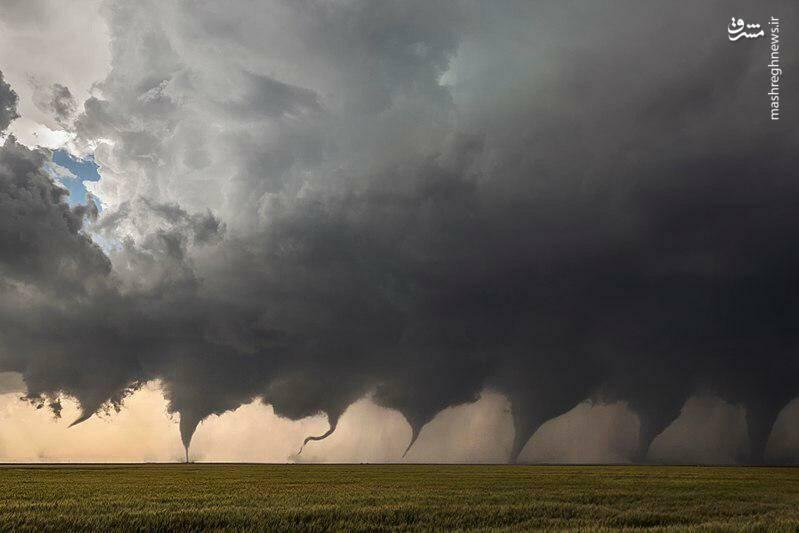 تصویر دیدنی از گردباد