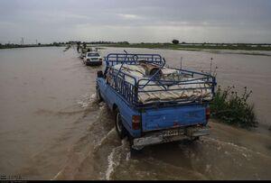 عکس/ تخلیه روستاهای شعیبیه خوزستان
