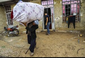 تخلیه روستاهای شعیبیه خوزستان