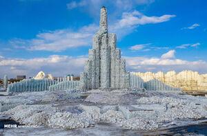 عکس/ آب شدن یخ های جشنواره یخ هاربین