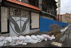 آمادگی مردم شهر سنندج برای مقابله با سیل احتمالی