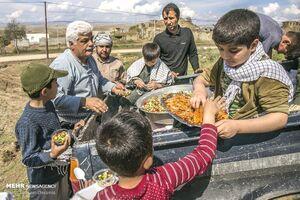 عکس/ نوروز با طعم اردوی جهادی