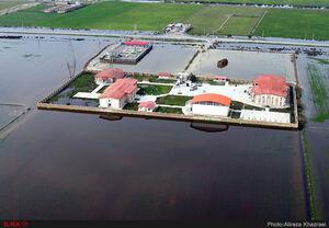 تصاویر هوایی از شهر گمیشان استان گلستان