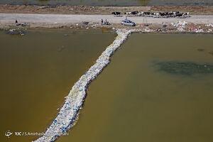 ترکمن صحرا؛ غرق در آب
