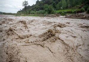 فیلم/ طغیان بیسابقه رودخانه کرگانه خرمآباد!