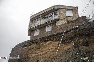 عکس/ خانههای معلق سنندج