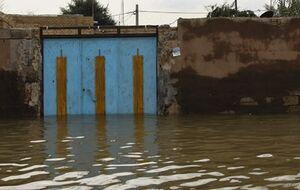 سیلاب در مناطق مختلف شهرستان اهواز / هشدار به مناطق حاشیه رودخانهها