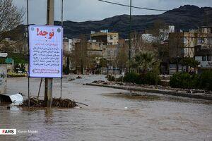 عکس/ سیل بیسابقه در خرم آباد