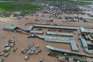 تصاویر هوایی سیلاب