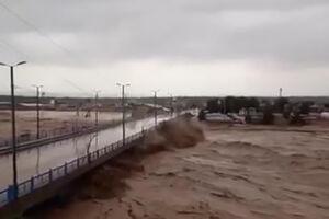 فیلم/ جریان پرفشار آب در پلدختر لرستان