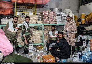 امدادرسانی نیروهای بسیج به سیلزدگان آققلا  +عکس