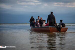 عکس/ با قایق تا گمیشان