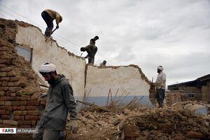 عکس/ خدماترسانی طلاب به سیلزدگان گلستان
